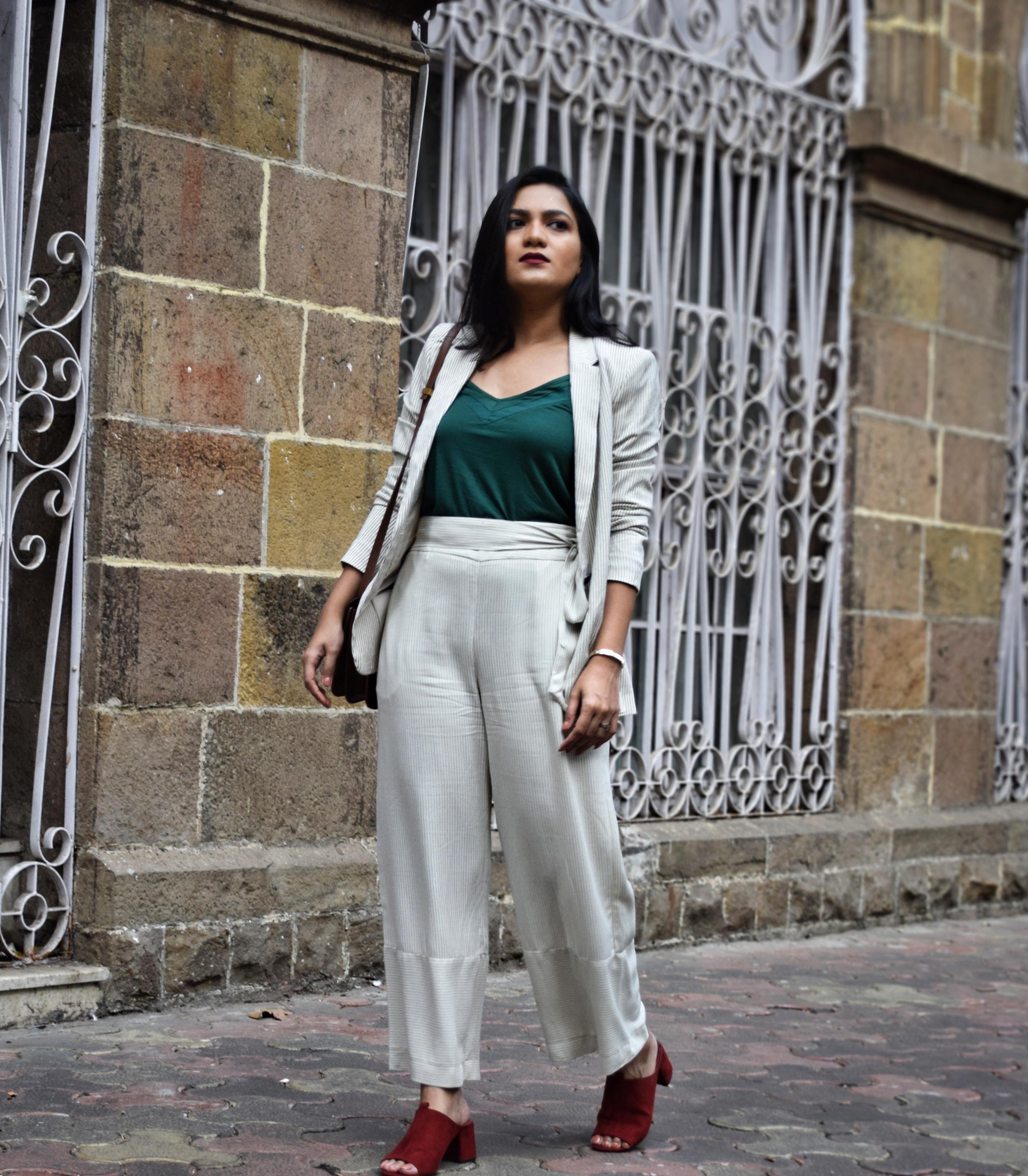 d40170f5adfa Co-ords – H&M | Green Top – H&M | Bag – Céline | Shoes – Zara
