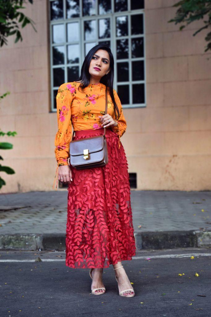 f1086fbe0c Top – Zara   Skirt – H&M   Sandals – Zara   Bag – Céline